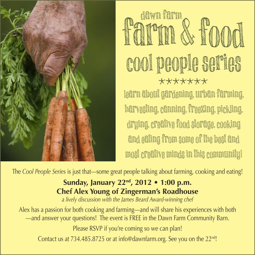 Farm & Food Cool People Series