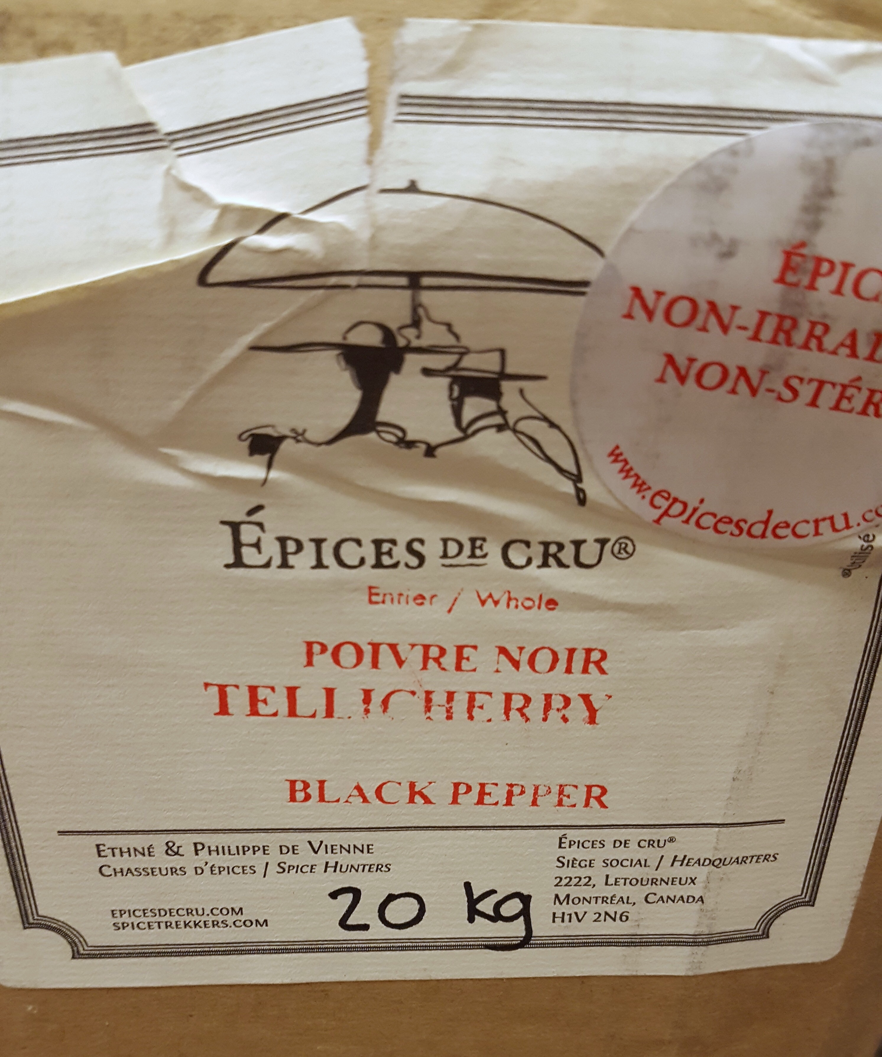 The Big Black Pepper Upgrade