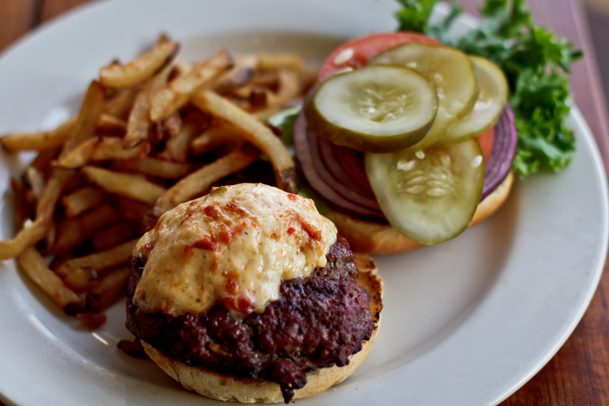Our Monday Blue Plate: The Roadhouse Burger