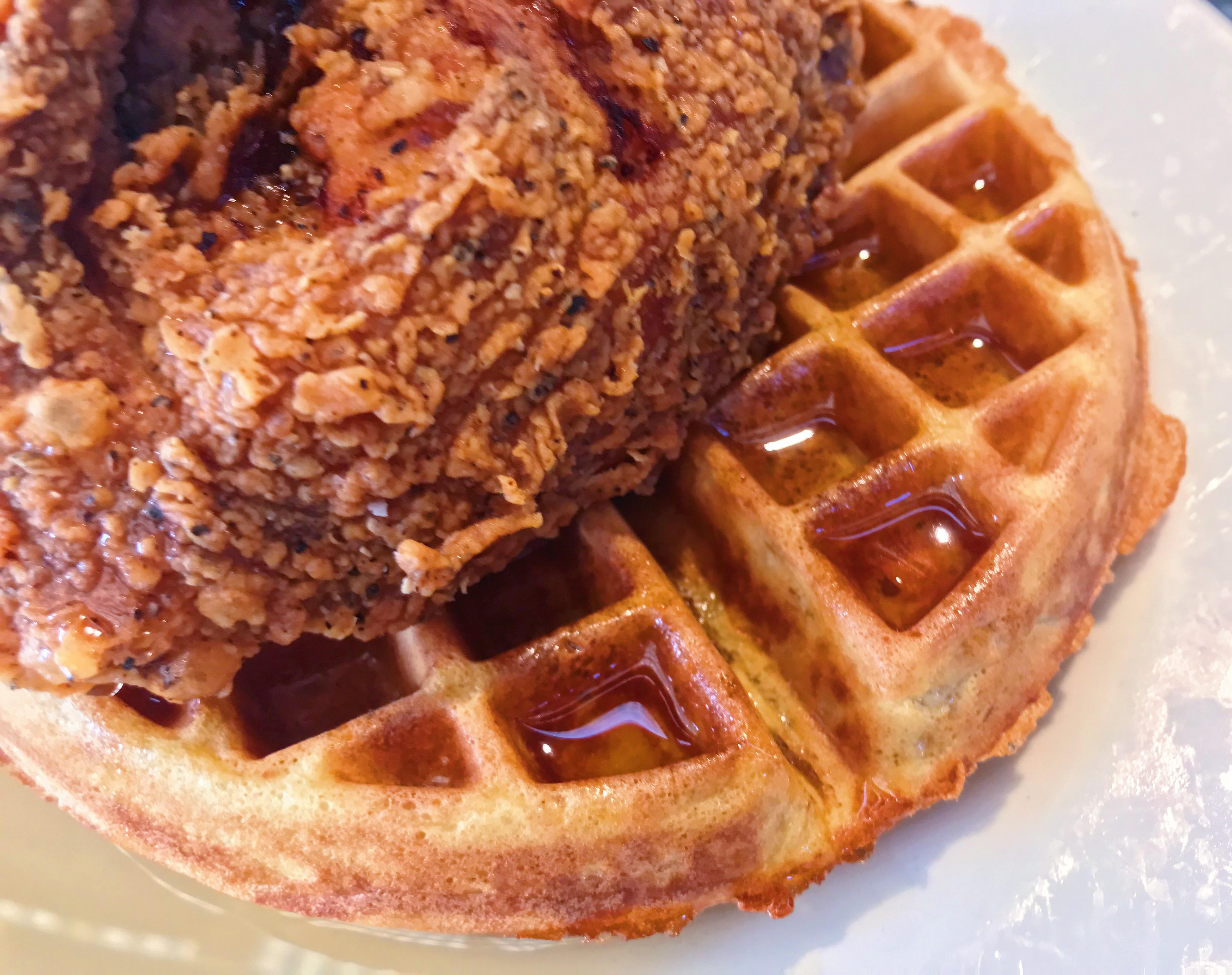 Chicken and Waffles: A Brunch Secret Special