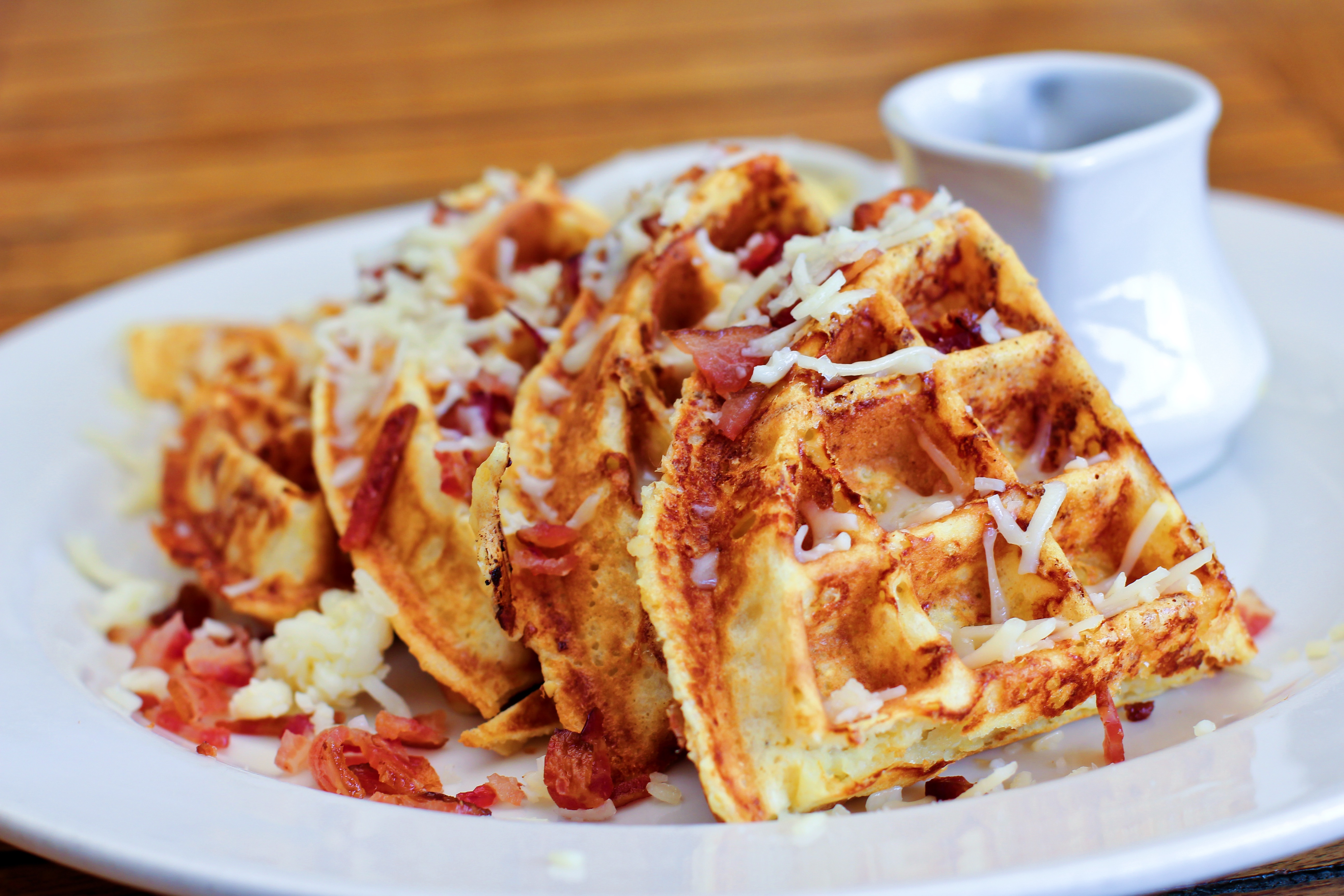 Grits n' Bits Waffles: All the Deliciousness in One Place