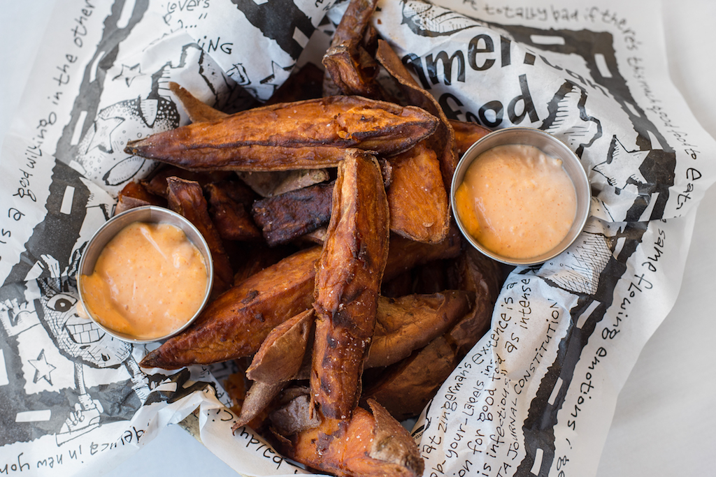 Sea Islands' Sweet Potato Fries at Zingerman's Roadhouse