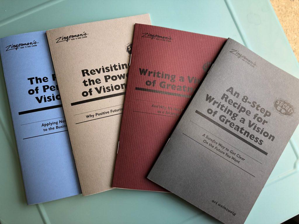An Arrangement of Ari Aweinzweig's secret pamphlets.