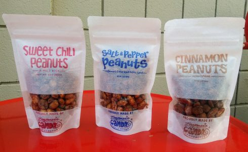 Bags of Flavored Peanuts from Zingerman's Candy Manufactory