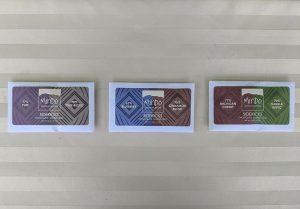 Three varieties of Mindo Chocolate Sidekicks.