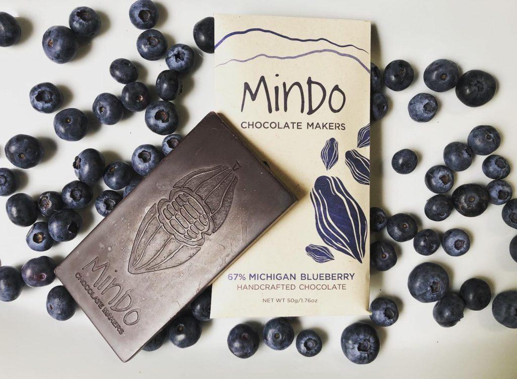 Mindo Blueberry Chocolate Bar