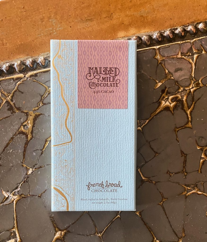 Malted Milk Chocolate Bar from French Broad Chocolate