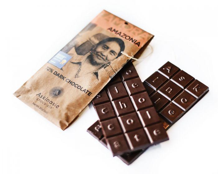 Askinosie chocolate bars Amazonia