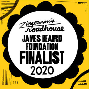 James Beard Finalist Logo 2020
