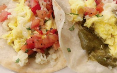 Terrific Breakfast Tacos at the Roadhouse