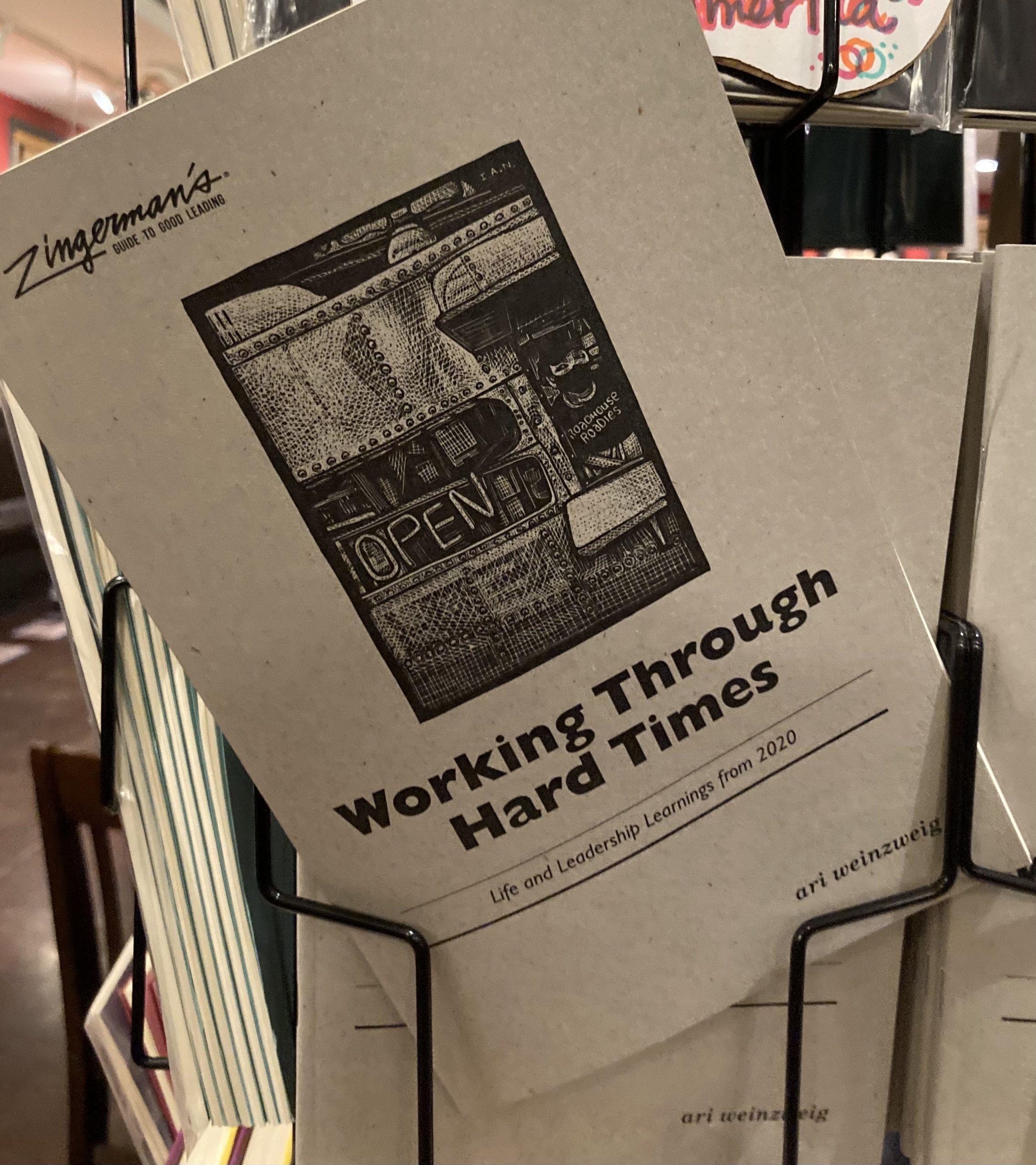 Working Through Hard Times Pamphlet by Ari Weinzweig