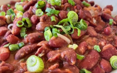 New Orleans' Red Beans & Rice at the Roadhouse