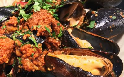 Mussels with 'Nduja at the Roadhouse