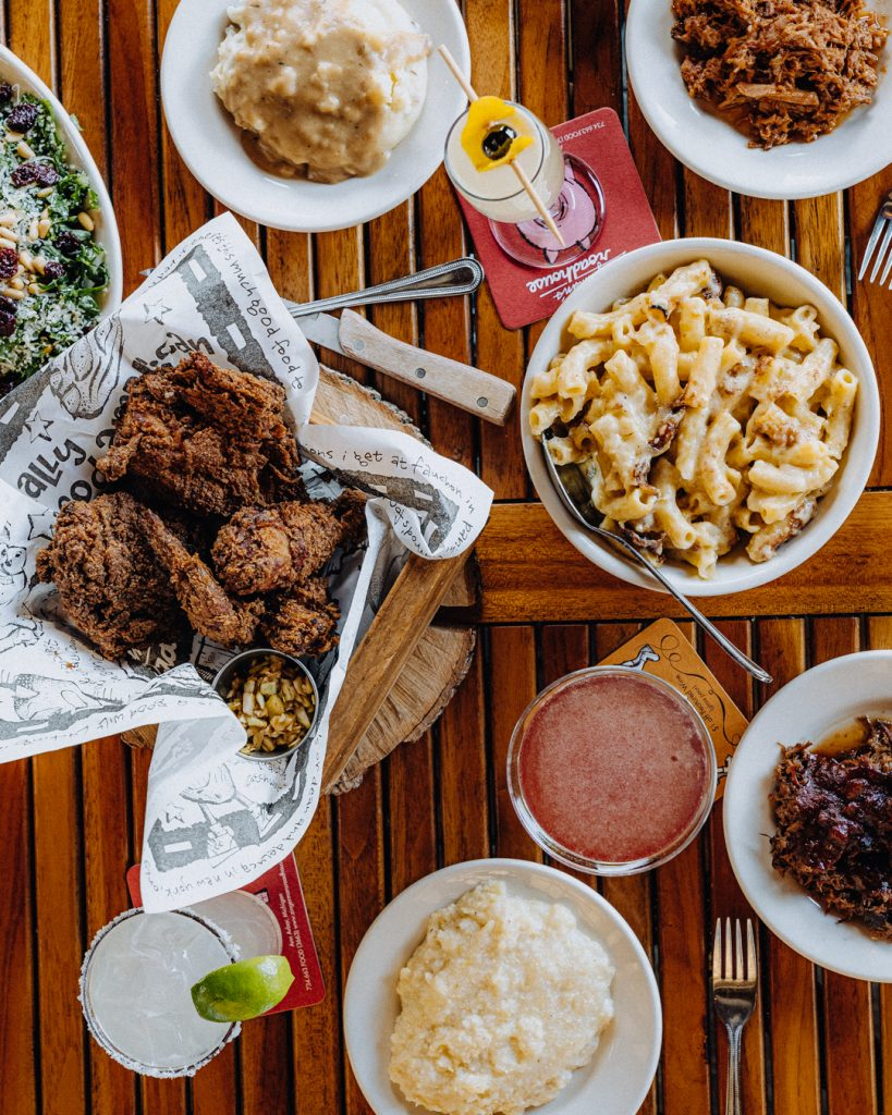 Fried Chicken and Mac and Cheese Spread